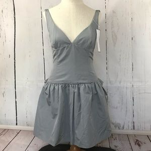J. CREW special occasion grey mini dress